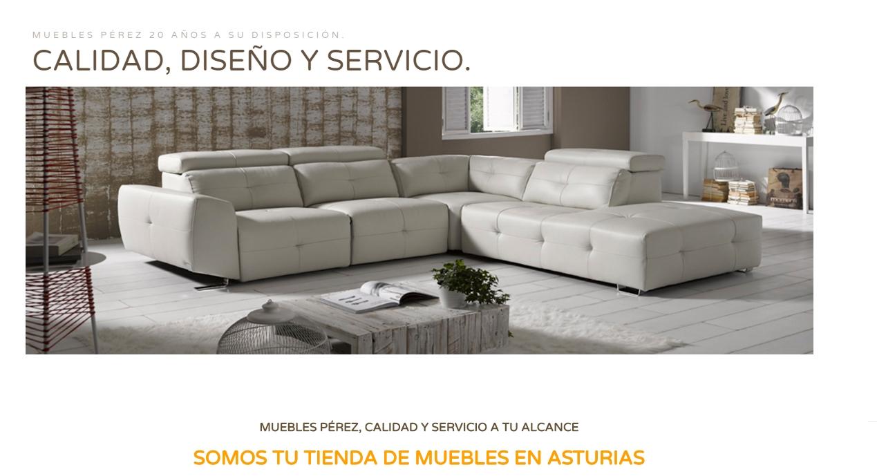 Muebles Pérez tienda de muebles en Asturias